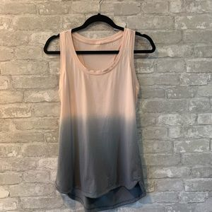 Calia Pink/Gray Ombré Everyday Tank No Tag